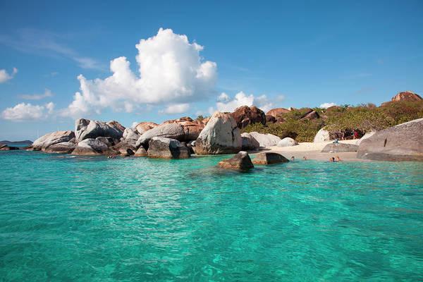 British Virgin Islands Photograph - Granite Boulders Near The Baths by Holger Leue