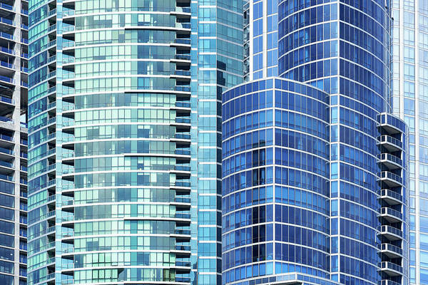 Wall Art - Photograph - Grant Condos In Chicago by Jim Hughes