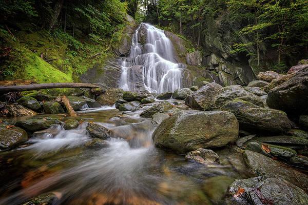 Photograph - Granville's Moss Glen Falls by Rick Berk