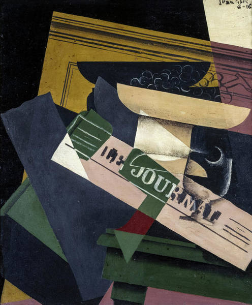 Wall Art - Painting - Grapes, 1916 by Juan Gris