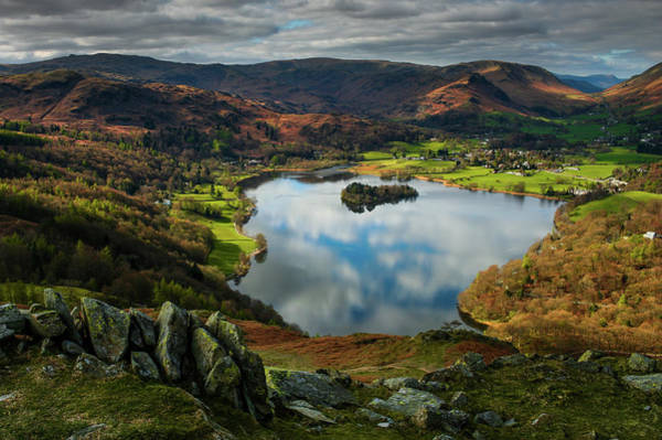 Grasmere From Loughrigg Terrace Art Print