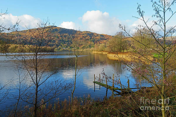 Wall Art - Photograph - Grasmere In Late Autumn In Lake District National Park Cumbria by Louise Heusinkveld