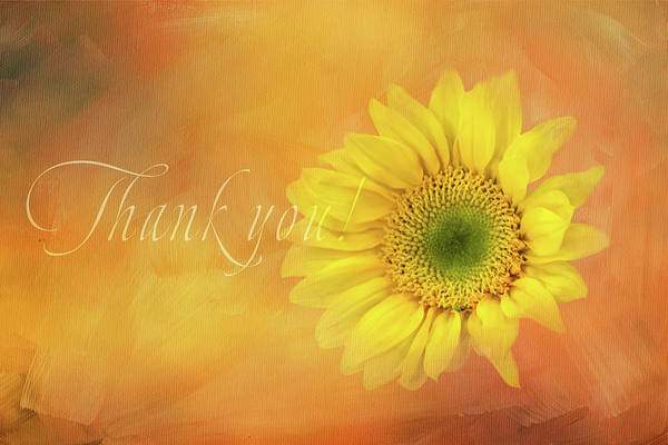 Wall Art - Digital Art - Gratitude Message by Terry Davis