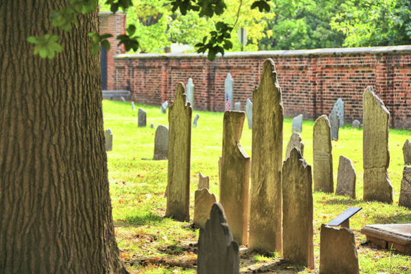 Photograph - Grave Stones by JAMART Photography