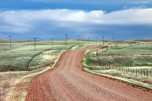 Photograph - Gravel Road by Todd Klassy