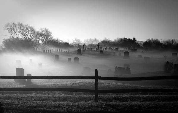 Nantucket Photograph - Graveyard Fog by J. Greg Hinson, Md, Www.ackdoc.com