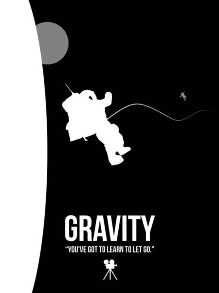 Wall Art - Digital Art - Gravity by Naxart Studio
