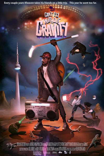 Digital Art - Gravity Poster by Nelson Garcia