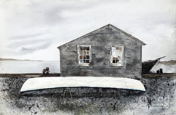 Painting - Gray Day by Monte Toon