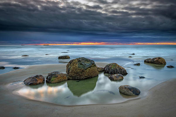 Photograph - Gray Morning On Wells Beach by Rick Berk