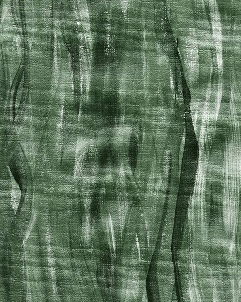 Wall Art - Painting - Gray Seaweed Abstract Organic Lines I by Irina Sztukowski