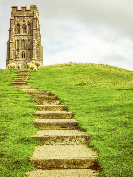 Wall Art - Photograph - Grazing At The Tor #2 by Joseph S Giacalone