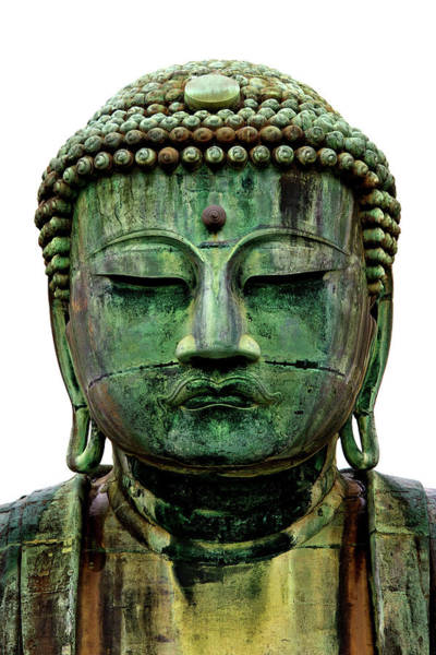 Kamakura Wall Art - Photograph - Great Buddha Shrine by © Bernard Tan. All Rights Reserved.