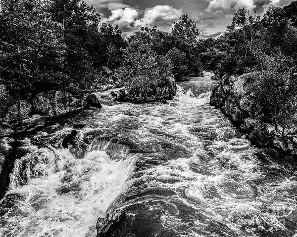Photograph - Great Falls Maryland Cascade by Thomas Marchessault