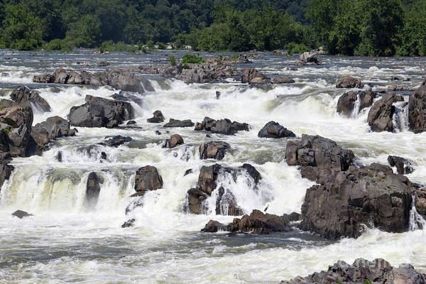Wall Art - Photograph - Great Falls Of The Potomac Viewed From The Virginia Side by William Kuta