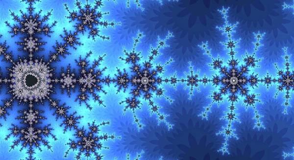Digital Art - Great Fractal Awakening Blue by Don Northup
