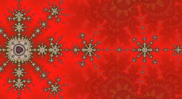 Digital Art - Great Fractal Awakening Red by Don Northup