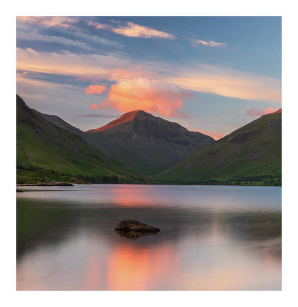 District Wall Art - Photograph - Great Gable  by Mark Mc neill