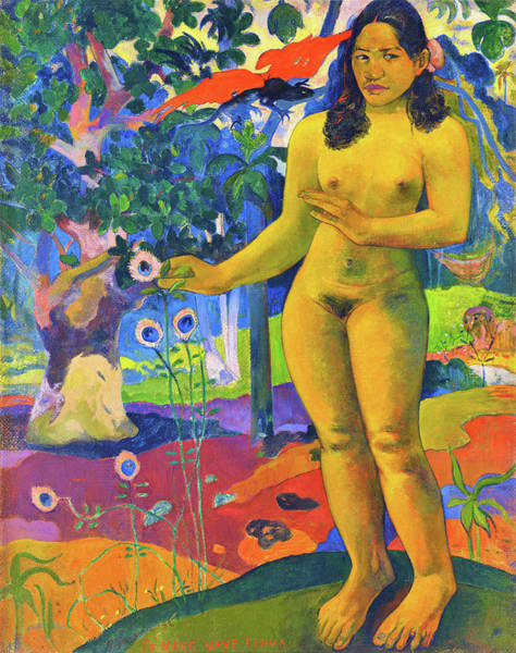 Wall Art - Painting - Great Ground - Digital Remastered Edition by Paul Gauguin