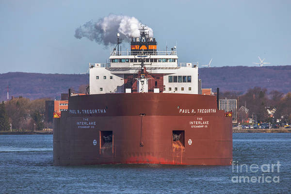 Wall Art - Photograph - Great Lakes Freighters Paul R Tregurtha -1761 by Norris Seward