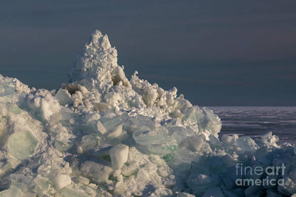 Photograph - Great Lakes Ice by Jim West