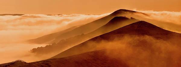 Wall Art - Photograph - Great Misty Ridge, Peak District by John Finney Photography