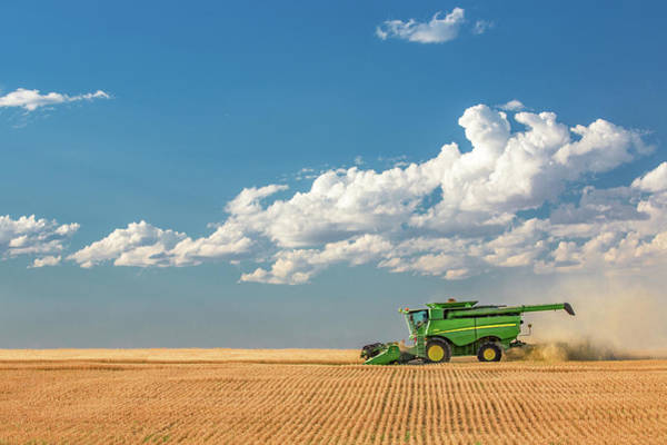 Wall Art - Photograph - Great Plains Harvest by Todd Klassy