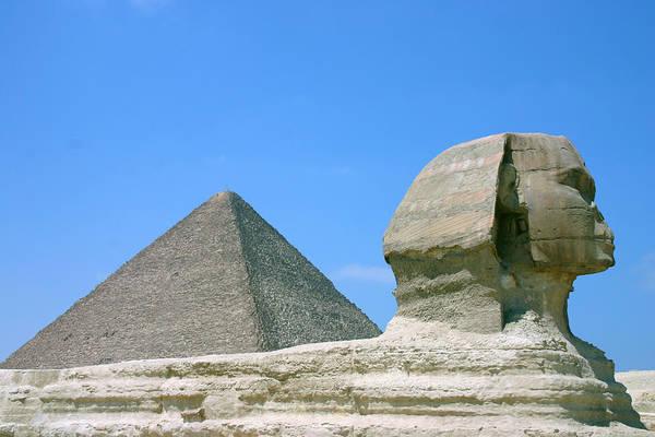 Giza Photograph - Great Pyramid & Sphinx Of Giza by Trekholidays