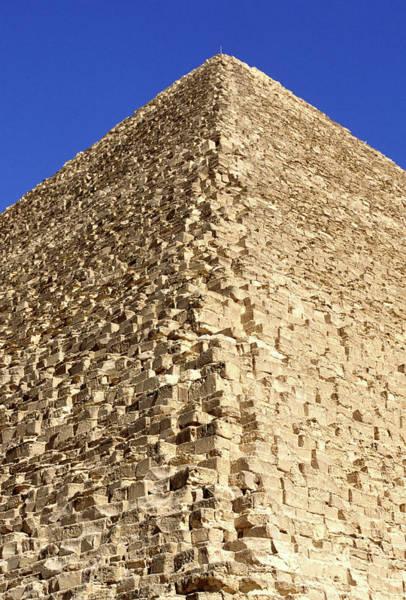 Giza Photograph - Great Pyramid Of Cheops - Giza, Egypt by Hisham Ibrahim