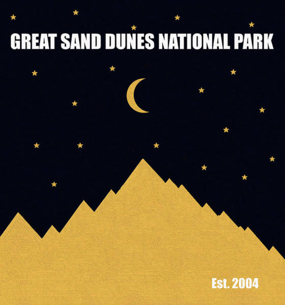 Wall Art - Mixed Media - Great Sand Dunes N. P. M Series by David Lee Thompson