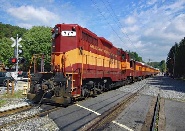 Wall Art - Photograph - Great Smoky Mountains Railroad 1 by Joseph C Hinson
