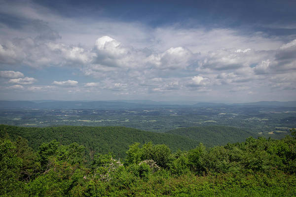 Wall Art - Photograph - Great Valley Overlook Blue Ridge Parkway by Teresa Mucha