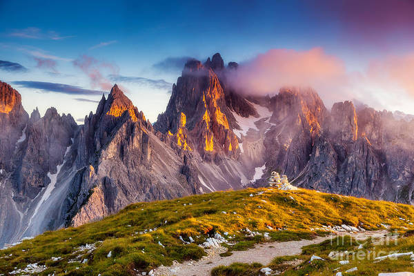Wall Art - Photograph - Great View Of The Top Cadini Di by Creative Travel Projects