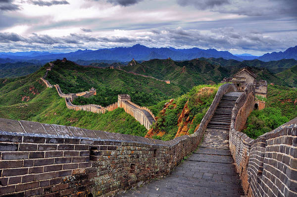 Wall Art - Photograph - Great Wall Of China by Aaron Geddes Photography