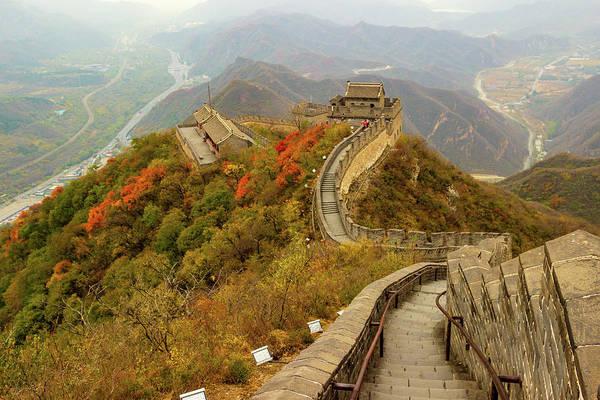 Photograph - Great Wall Of China by Aashish Vaidya