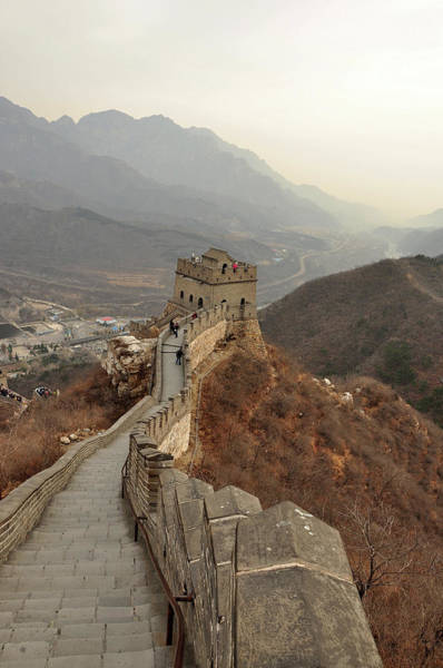 Chinese Culture Photograph - Great Wall Of China by Asifsaeed313