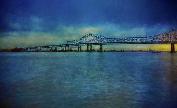 Greater New Orleans Bridge Art Print