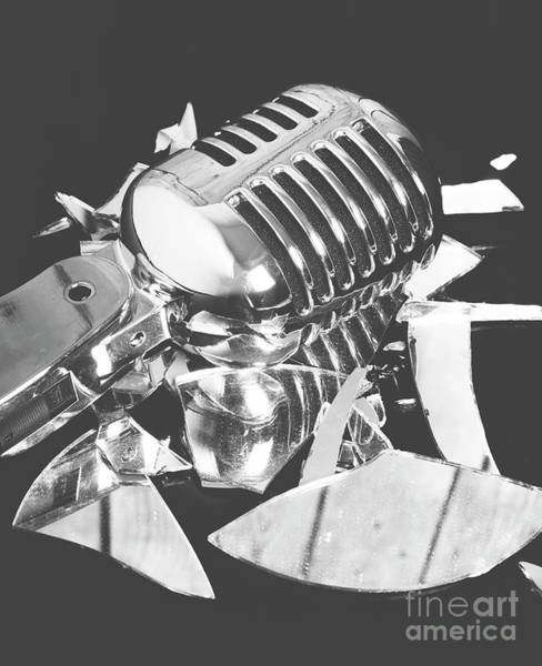 Microphone Photograph - Greatest Hits by Jorgo Photography - Wall Art Gallery