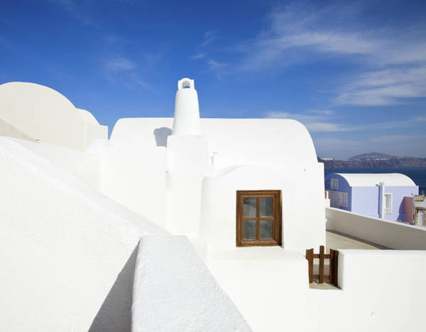 Patio Photograph - Greece by Benedek