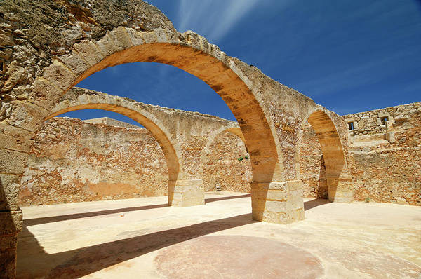 Greece Photograph - Greece, Crete, Rethymnon, Venetian by Soberka Richard / Hemis.fr