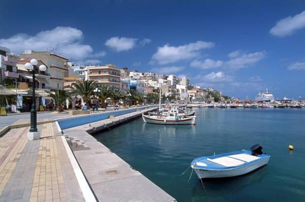 Greece Photograph - Greece, Crete, Siteia, View Of by Nigel Hicks