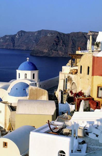 Greece Photograph - Greece, Cyclades Islands, Santorini by Gardel Bertrand / Hemis.fr