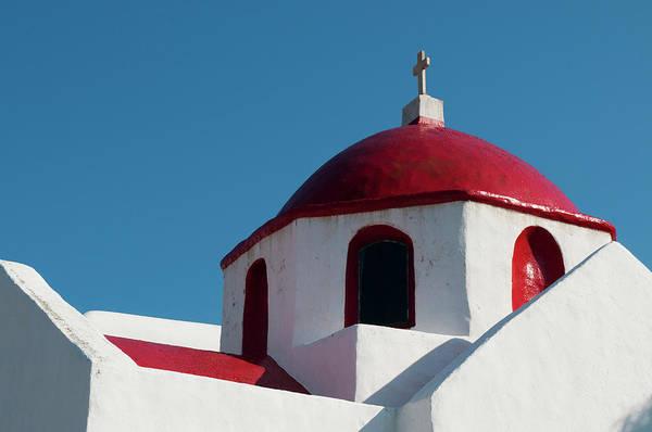 Greece Photograph - Greece, Cyclades, Mykonos, Ano Mera by Pitamitz Sergio