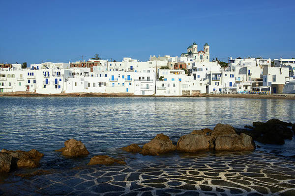 Greece Photograph - Greece, Cyclades, Paros, Naoussa by Tuul & Bruno Morandi