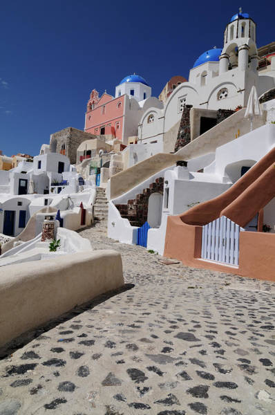 Greece Photograph - Greece, Cyclades, Santorini Island by Heintz Jean