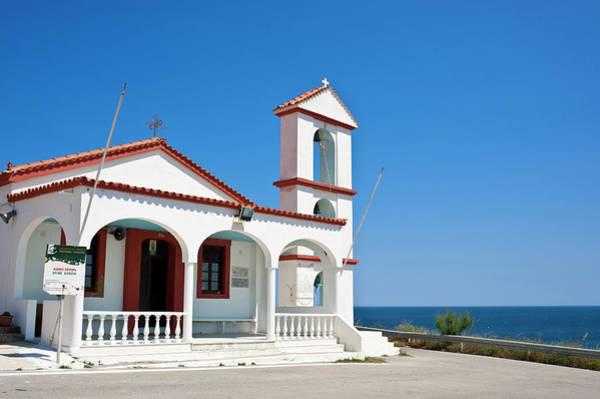 Greece Photograph - Greece, Lemnos Island, Agios Sozon by Guiziou Franck / Hemis.fr