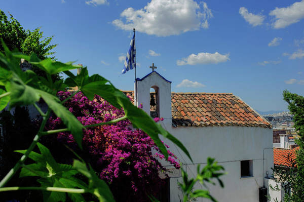 Wall Art - Photograph - Greek Church Of St George Of The Rock by Cassi Moghan