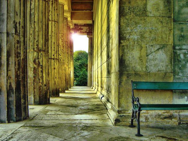 Photograph - Greek Temple In Vienna by Jonny Jelinek