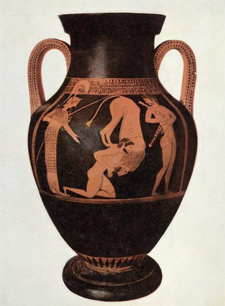 Wall Art - Photograph - Greek Vase by Hulton Archive