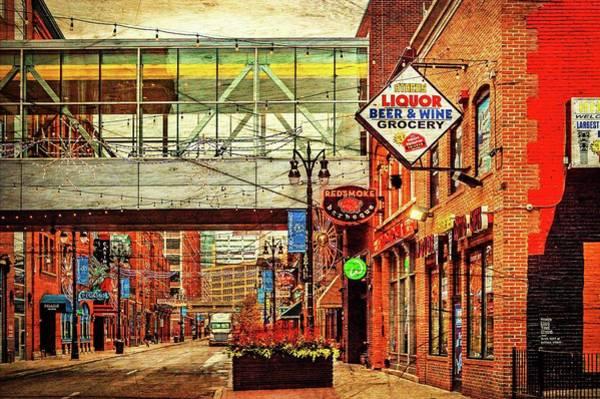 Wall Art - Photograph - Greektown Dsc_1215 Vintage by Michael Thomas